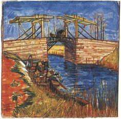 Watercolor Arles 1888