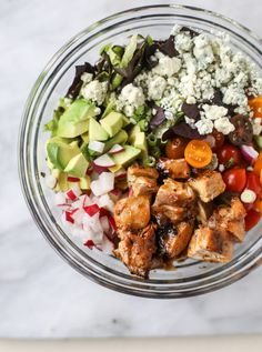 Chopped Chicken Salad - Honey Mustard Chopped Chicken Salad...