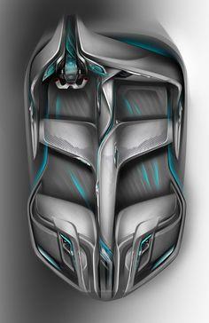 Buick Riviera Concept - Interior Design Sketch