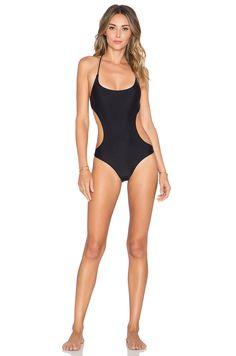 7c5b07ed84 Rachel Pally Elle Swimsuit in Black One Piece Swimwear, Cut Out Swimsuits, One  Piece