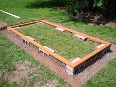 Great idea to make a chicken coop foundation safe from preditors