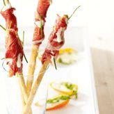 Zomerse zoute stengels met ham - Libelle