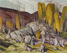 Alfred Joseph Casson, 'Late October, Near Bancroft' at Mayberry Fine Art