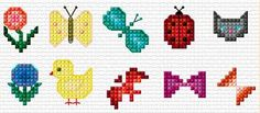 Image result for small cross stitch patterns                                                                                                                                                                                 More