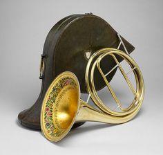 Dubois & Couturier (Francés, activo antes de 1829-1837). Cuerno solitario, 1829. El Museo de Arte Metropolitano, Nueva York.
