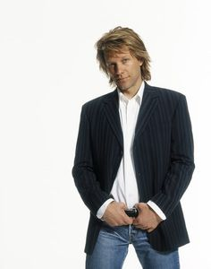 Jon Bon Jovi -- I've always thought he was sexy as all heck! And it wasn't just because he was in he limelight with his music... there's just something about him. If you've ever watched him do an interview, I think you'd understand...he's so down to earth, good natured, and also amusingly funny at times.