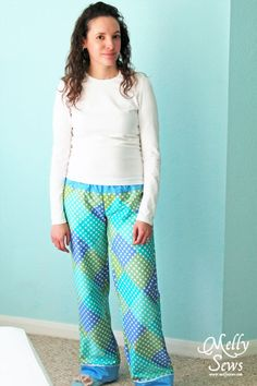 How to Draft And Sew Your Perfect Pajamas