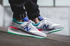 On-Foot: New Balance 997 'Deep Ozone Blue' - EU Kicks: Sneaker Magazine