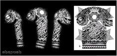 Tattoo sleeve tribal men maori Ideas for 2019 3 4 Sleeve Tattoo, Tribal Sleeve Tattoos, Girls With Sleeve Tattoos, Arm Tattoo, Tattoos For Guys, Tattoo Maori Perna, Full Sleeves Design, Free Tattoo Designs, Design Tattoos
