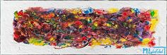NEW PAINTING !  Galaxy I  40x120 cm  My website:   #art #paintings #artbylonfeldt