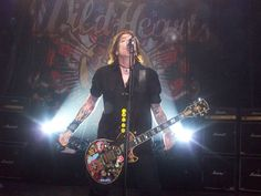 My daughter took this - Ginger , The Wildhearts