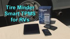 Tire Minder Smart TPMS for RVs: An installation and feature and benefit video of the first smartphone based Tire Pressure Monitoring System for RVs, by Minder Research. The Smart TPMS is compatible with iPhone, iPad and Android smart devices.  https://youtu.be/Uy4PTB1QMxc