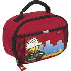 Lego Fireman Lunch Bag