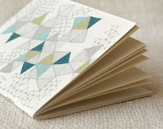Wit & Whistle » love triangles jotter. Want to make something inspired by this for living room.