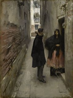 John Singer Sargent A Street in Venice - Street in Venice - Wikipedia, the free…