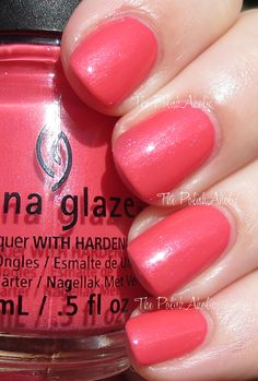 Strike a Rose - China Glaze Spring 2014 City Flourish Collection Swatches