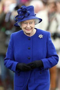 Queen Elizabeth, June 24, 2013 at a polo event.