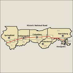 America's Byways - Historic National Road
