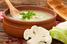 Create this recipe for Roasted Cauliflower & Fennel Soup while you are following the stabilization diet after bariatric surgery.