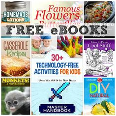 Free eBooks: 30+ Technology-free Activities for Kids + More!