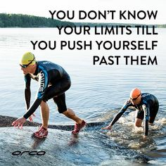 orca_triathlon: You don't know your limits till you push yourself past them. #fridaymotivation #swimrun
