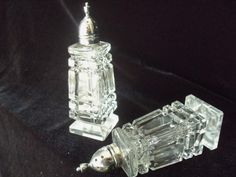 Your place to buy and sell all things handmade Salt Pepper Shakers, Salt And Pepper, Shabby Chic, Buy And Sell, Glass, Handmade, Stuff To Buy, Etsy, Vintage