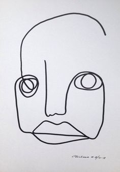 Christiane Spangsberg  Try to create different head shapes. See how this head is short and wide and square? That's interesting.