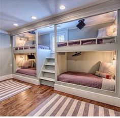 This is such a cute idea. A major improvement from traditional bunk beds