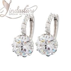 Love, Frozen in Time drop #earrings will let you endeavor a sensational a elegance and charm with your cocktail gown or any glamorous outfit. Made with stunning diamond-cut zircons, these beautiful pair reflects a dramatic radiance and a seductive grace to every outfit. Feel like a star in this sparkling white, ethical design.  https://www.lindastars.com/collections/together-for-ever-collection/products/love-frozen-in-time