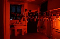 photo developing dark room - Google Search