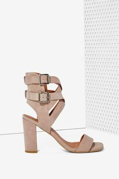 Jeffrey Campbell Eudora Suede Heel - Rose | Shop Shoes at Nasty Gal!