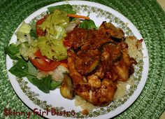 Easy to Make Baked Chicken with Zucchini | Skinny Girl Bistro