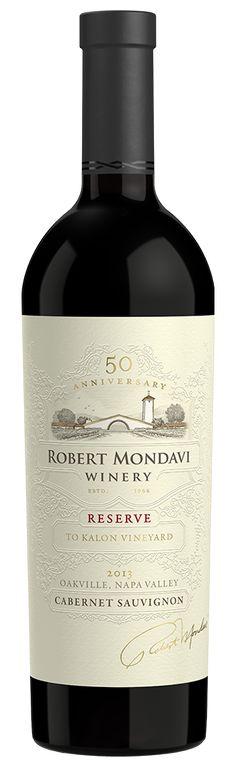 2013 Robert Mondavi Winery Reserve To Kalon Vineyard Cabernet Sauvignon Oakville Napa Valley