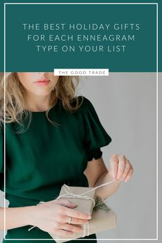The Best Holiday Gifts For Each Enneagram Type On Your List // The Good Trade // Unique Gifts For Men, Gifts For Him, Gifts For Women, Holiday Fun, Holiday Gifts, Best Friends Brother, Hunting Birthday, Simple Blog, Enneagram Types