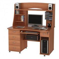"""Прямой компьютерный стол """"Юник 11"""" с возможностью доставки в Киев и Другие регионы Украины. Цены на компьютерные столы от производителя мебели """"Юниор"""""""