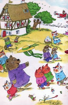 Great Big Air book by the one & only Richard Scarry! (From Vintage Children's Books My Kid Loves blog)