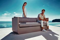 ULM Outdoor Furniture Collection With Built-In Lighting