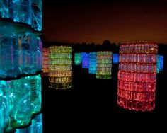 Installations from British artist Bruce Munro's exhibit Light, on display at Nashville's Cheekwood Botanical Garden May 24 through November 10.
