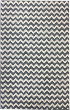 Rugs USA Home Value Chevron light blue rug