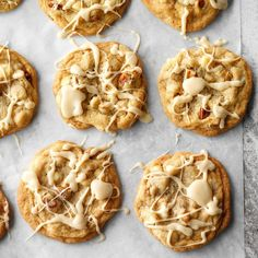 Vermont Maple Cookies Exps Fbmz18 191647 D05 09 1b 11 Drop Cookie Recipes, Cookie Desserts, Just Desserts, Fall Desserts, Delicious Desserts, Yummy Food, Maple Cookies, Drop Cookies, Bake Sale Cookies