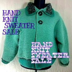 HAND KNIT ITEMS ON SALE!!!! 25% OFF items that I made, hand knit or crochet, on sale! Sweaters, poncho's, ear warmers and fingerless gloves! Crop sweaters are great summer wear! Don't wait for winter, get them at a great price! Tag me when you're ready to buy and I'll apply discount. Lobax Sweaters Cardigans
