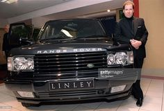 Range Rover P 38 Special Linley Edition, with David Linley