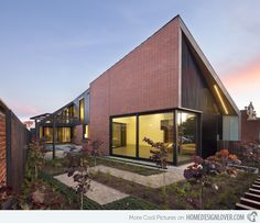The Decieving Look of the Red Brick House in Victoria, Australia