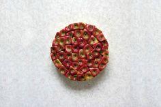 Geometric Food Art - Apple Core Circle