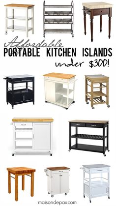 Where To Buy Affordable Kitchen Islands Kitchens House And