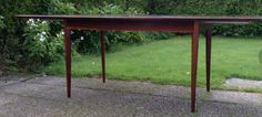 Fredrik Kayser, spisebord i palisander. Retro Furniture, Teak, Gazebo, Retro Vintage, Outdoor Structures, Design, Modern, Kiosk, Pavilion