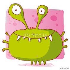 Vecteur : bactérie virus