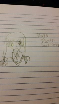 @purpleramp2 and now here's Maka, sorry if it took to long ^^'
