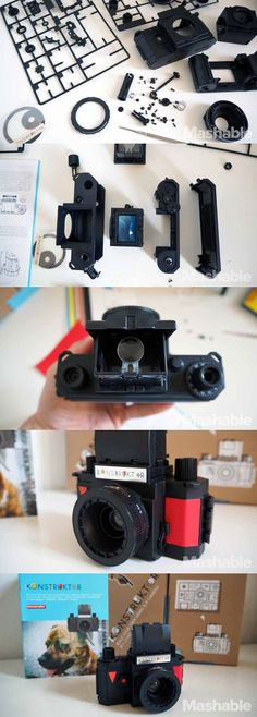 Build your own camera with the Lomography Konstruktor.