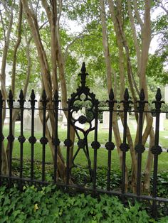 Wrought iron anything but especially from Charleston just does it for me